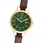 Reloj Aimant Kyoto LKY-180L5-3G Acero Cuero