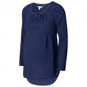 Esprit Maternity Blouse Wvn LS Night Blue 34 *7. Mammakläder