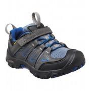 KEEN OAKRIDGE LOW WP K Dětské trekové boty KEN1202113202 magnet/true blue 8(25/26)