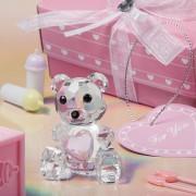 Ursulet Cristal Roz. COD 2249
