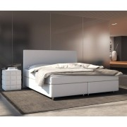 DELIFE Boxspring-bed Cloud 140x200 cm wit Topper en matras