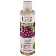Biologische Anti-age toner voor gevoelige huid met hyaluronzuur, droge en ouder huid, organisch product, natuurlijke ingrediënten, 200ml