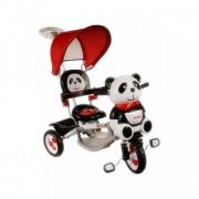 Tricicleta Pentru Copii Panda 2 - Rosu