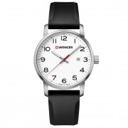 Wenger Avenue Reloj de cuarzo acero inoxidable white-black