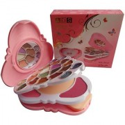 Ads Color Series Makeup Kit With Eyeshadow + Powder + Blusher + Lip Color A8163