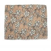 Sciarpa lino a fiori GUERRIERI