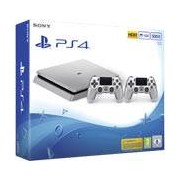 Sony Interactive Entertainment PS4 Slim 500GB Silver + 2 Controller