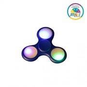 Smiles Creation™Fidget Spinner with Light Hand Spinner Ultra Speed Tri-Spinner for kids