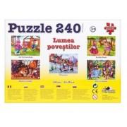 Puzzle Cei Trei Purcelusi - Colectia Povesti, 240 piese