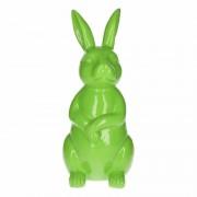 Stoobz design Tuinbeeld konijn / haas groen 30 cm