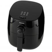 Friteuza HD9621/90, Tehnologie TurboStar 200 grade C, Cronometru, Curatare rapida, Incalzire instantanee, Capacitate 800gr, 1425 W, Negru