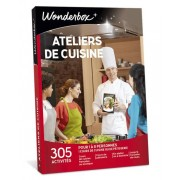 Wonderbox Coffret cadeau Ateliers de cuisine - Wonderbox