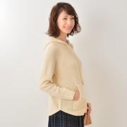Coeur sucre ニットフーディ【QVC】40代・50代レディースファッション
