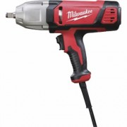 Milwaukee Electric Corded Impact Wrench with Friction Ring and Rocker Switch - 1/2Inch Drive, 300 Ft.-Lbs. Torque, Model 9071-20