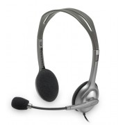 """Casti Logitech """"H110"""" Stereo Headset with Microphone """"981-000271"""" (include timbru verde 0.01 lei)"""