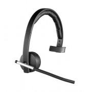 Logitech Wireless Headset Mono H820e - Headset - på örat - DECT