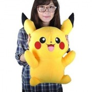 Rebuy Cutest Pikachu Cartoon Character Soft Toy For Kids (Large)