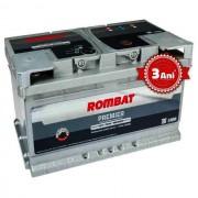 Acumulator auto Rombat Premier, 12V, 70 Ah, curent pornire 680A,