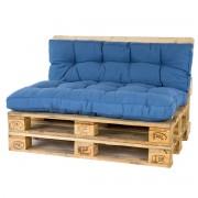 Hartman Palletkussenset Steelblue - 2 delig
