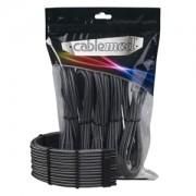 Set cabluri prelungitoare CableMod PRO ModMesh, cleme incluse, Carbon