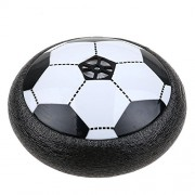 EMOB Air Powered Electric Soccer Football Toy With LED Lights For Indoors Soft Padded Rubber Foam Protected