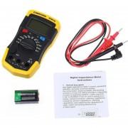 Onloon XC6013L Plástico Medidor De Capacitancia Multímetro De Digital, Amarillo