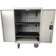 Универсален шкаф на колела Estillo LP-1224, за зареждане на до 24 бр. лаптопи и таблети - LP-1224