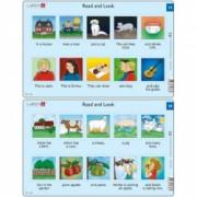 Set 10 Puzzle-uri Read and Look 11 -20 EN 10 piese Larsen LRRA6