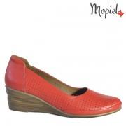 Pantofi dama din piele naturala 231210/03413/Rosu/Claudia