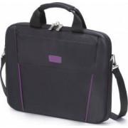 Geanta Laptop Dicota Slim 14 - 15.6 Black - Purple