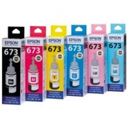 Original Epson Ink Bottles All Colou rs Set Of 6 For Epson L800