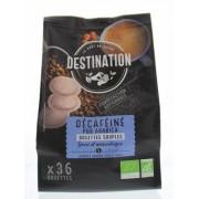 Destination Koffie decaf pads 36st