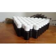 50 flaconi marrone da 10 ml con olio essenziale lavanda lavandino puro 100% raccolto 2019 senza etichetta