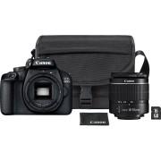 CANON Reflexcamera EOS 4000D + 18-55mm + SB130 Schoudertas + 16 GB SD kaart (3011C013AA)