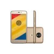 Smartphone Motorola Moto C Plus Dual Chip Android 7.0 Tela 5 Quad-Core 16GB 4G Wi-Fi Câmera 8MP - Ouro