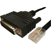 Cisco Straight serial cable - RJ45 to DB25 male