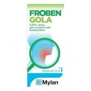 Mylan Italia Srl Bgp Products Srl Mylan Spa (Merck Generics) Froben Gola Spray Nebul 15ml 0,25%