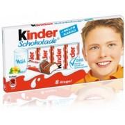 Batoane Ciocolata cu Crema Lapte Kinder 100g