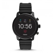 FOSSIL SmartWatch FOSSIL Explorist HR Black Silicone FTW4018