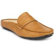 Server Low Cut Beige Casual Loafer Sandal Clog
