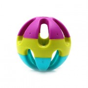 Yani DCT-7 ABS Plastic Dog Toy Happy Jingle Bell Ball Chewing Ball Funny Pet Interactive Fetch Play