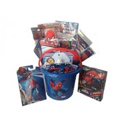 Marvel Amazing & Ultimate Spiderman JUMBO Filled Gift Bucket Basket Perfect for Christmas