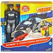 Dc Comics Justice League Batman Y Batimoto Transformable