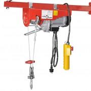 vidaXL Електрически телфер, 1000 W, 200/400 кг
