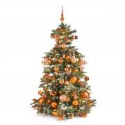 Xmasdeco Luxe kunstkerstboom koper warm 150cm