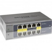 Комутатор Netgear 5PT GIGABIT POE/PD PLUS SWITCH - GS105PE-10000S