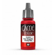 Vallejo Game Color Bloody Red Paint, 17 ml