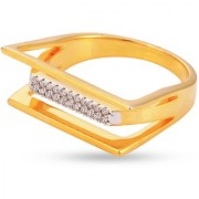 Tistabene Retails Classic Stylish Designer American Diamond Party Wear Cocktail Ring For Women And Girls (RI-0545)