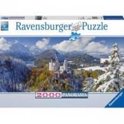 Пъзел Ravensburger 2000 елемента, Замъкът Нойщванщайн, 704005