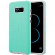 Funda Case Para Samsung S8 Doble Protector De Plástico Super Resistente Uso Rudo - Menta